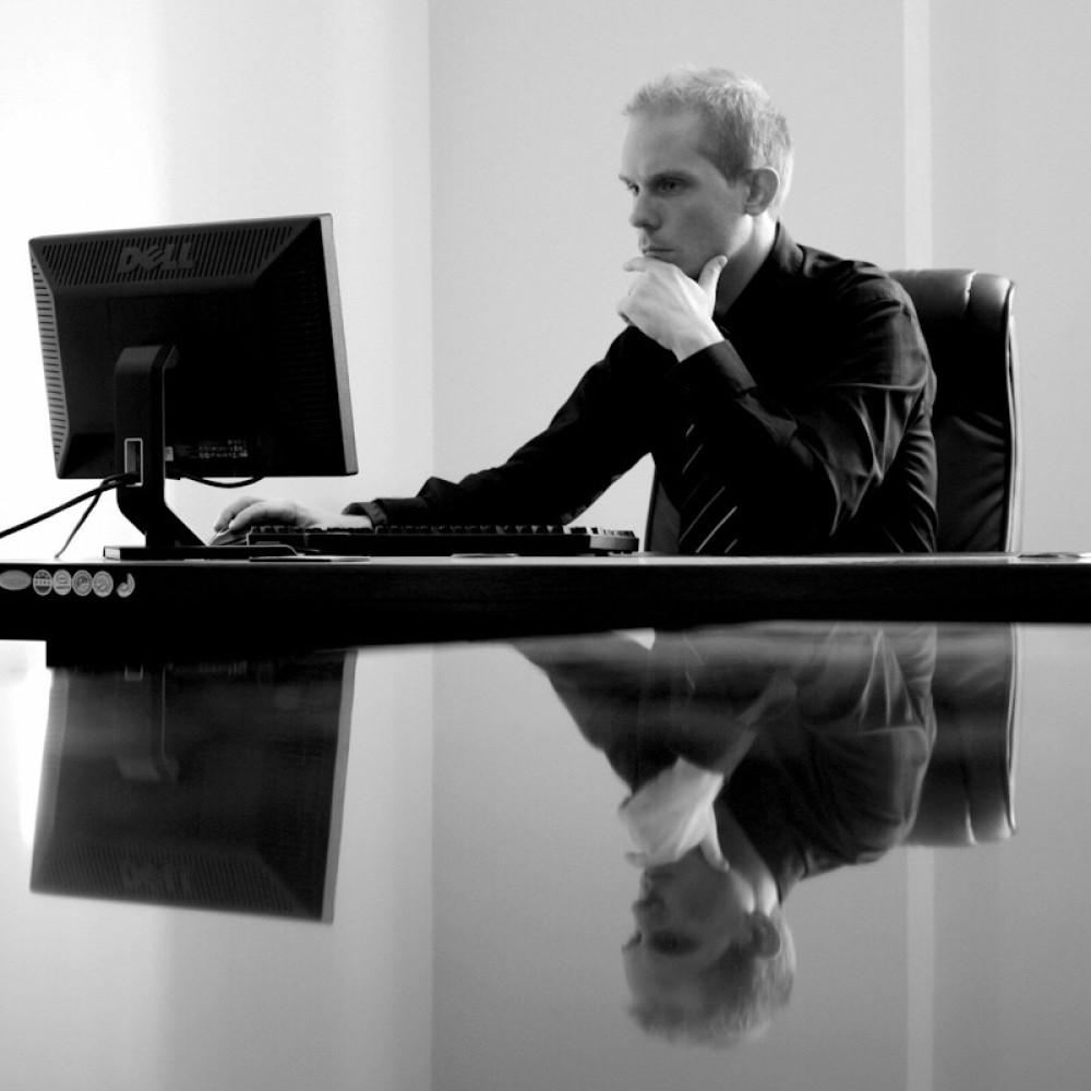 Ofis Çalışanı Fotoğrafı