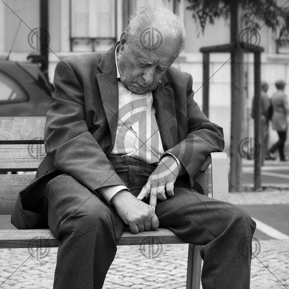 Yaşlı Adam Fotoğrafı