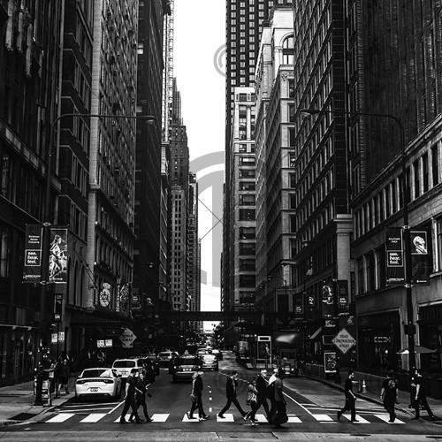 Caddede Kalabalık