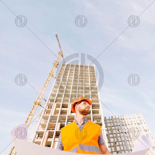 İnşaat Mühendisi Fotoğrafı