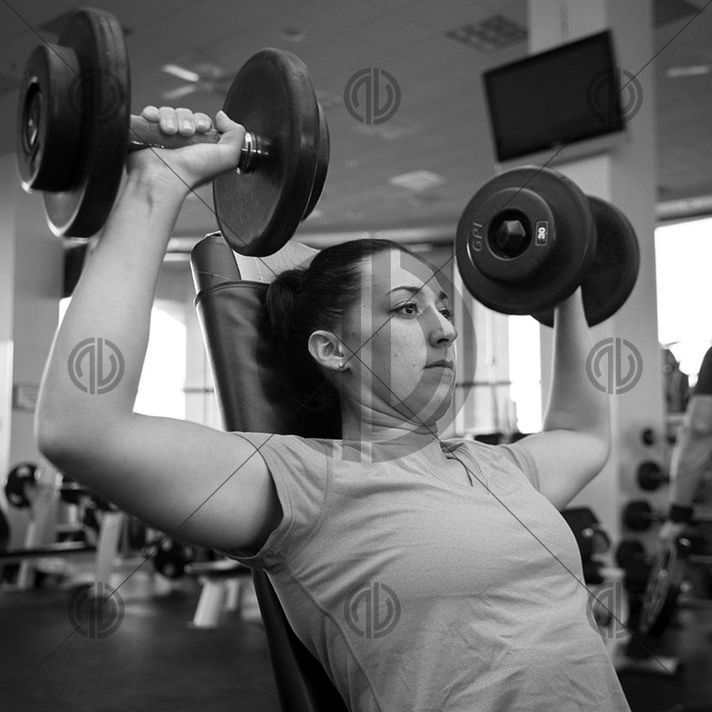 GYM Kadın Sporcu