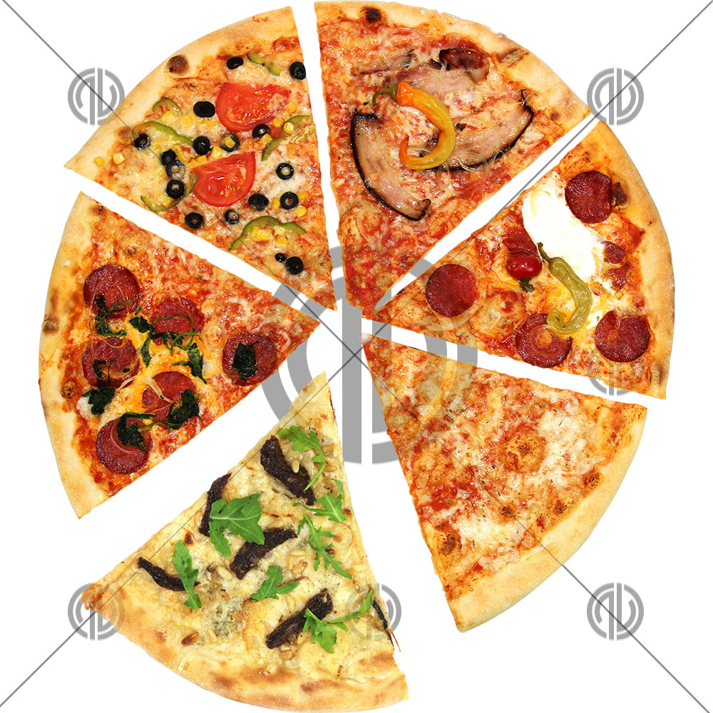 Dilimli Pizza png