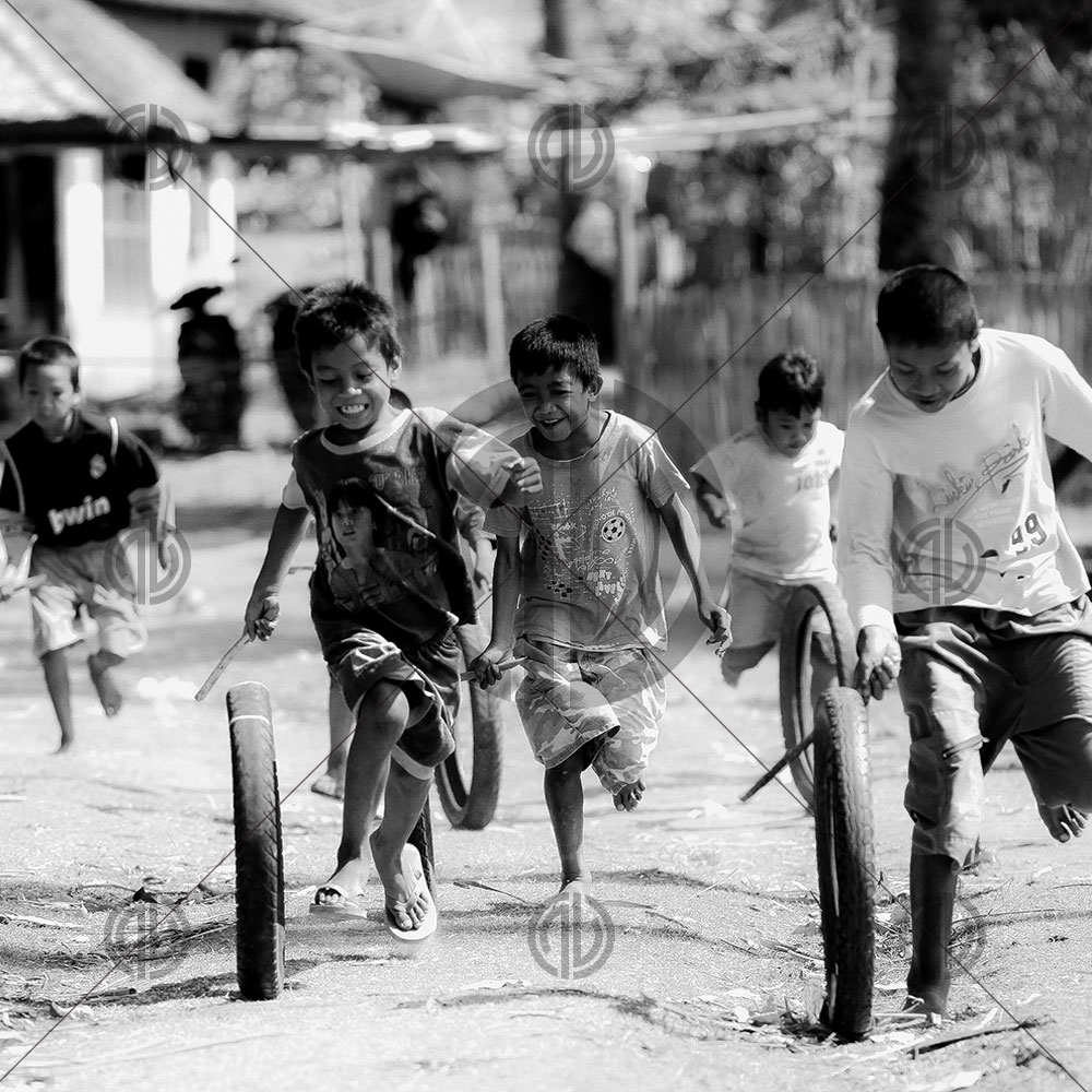Eğlenen Çocuk Fotoğrafı